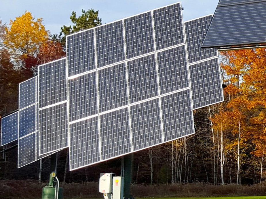 Solar arrays at Osprey Wilds