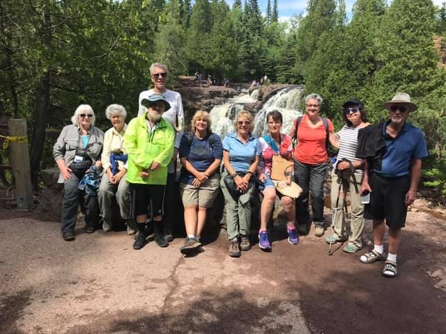 Voyaguers NP Road Scholar Program through Osprey Wilds