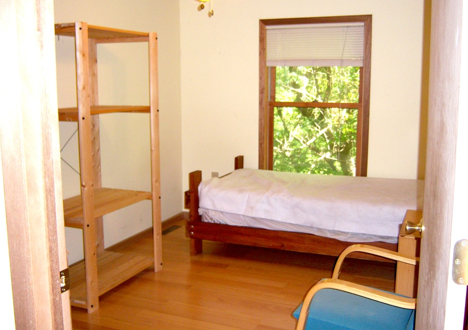 Staff house bedroom