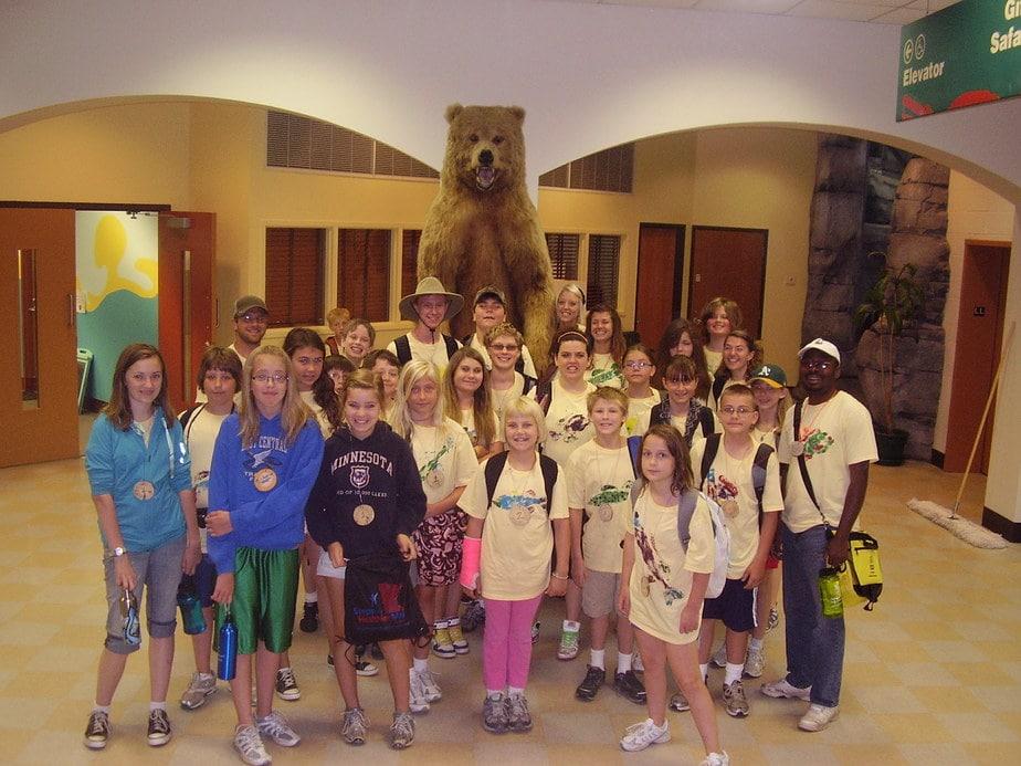 Wild About Animals summer camp at Osprey Wilds