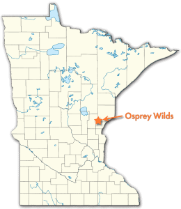 Osprey Wilds conveniently located in central MN