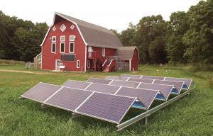 Clean Energy Solutions Hamline course at Osprey Wilds