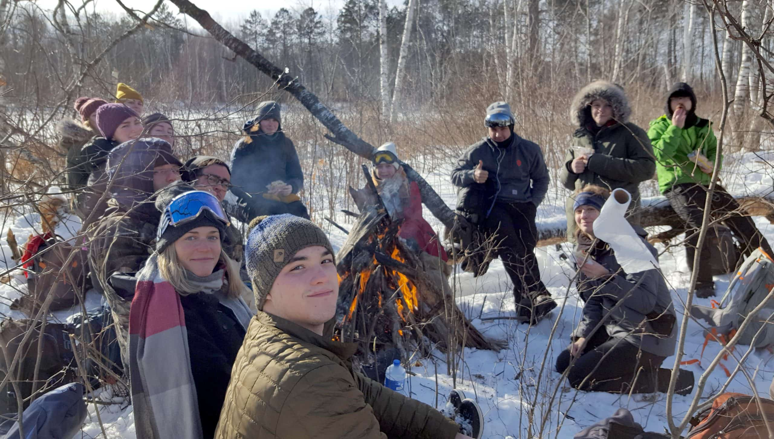 Wonders of Winter Hamline course at Osprey Wilds