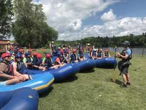 Rocks, Ropes & Rafts summer camp at Osprey Wilds