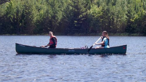 Canoeing at Osprey Wilds
