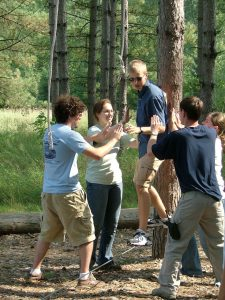 Low Ropes Teambuilding at Osprey Wilds