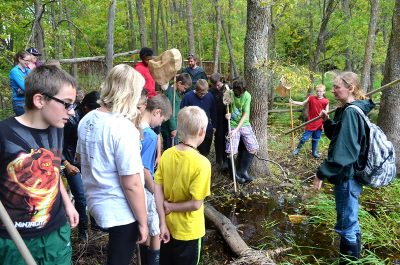 Nature learning at Osprey Wilds