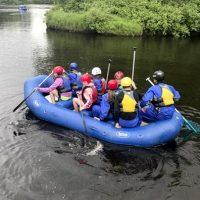 Rock, Ropes & Rafts summer camp at Osprey Wilds