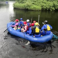 Rock, Ropes & Rafts summer camp at Osprey Wilds